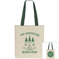 Adventure Begins Tote