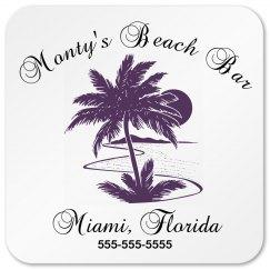 Monty Beach Bar Business