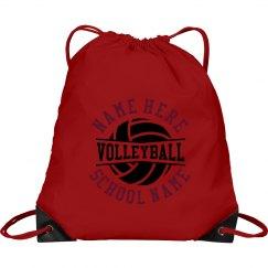 Custom Volleyball Team School Bag