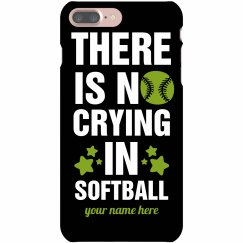 Softball Players Don't Cry