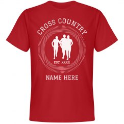 Personalize Your Own Cross Country Tee