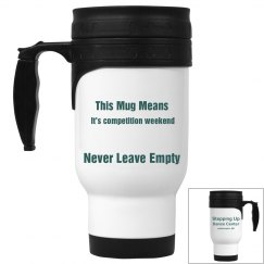 Competition weekend mug