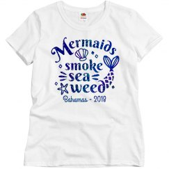 Mermaids Smoke Sea Weed Shirt