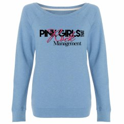 Pink Girls that Rock Sweatshirt