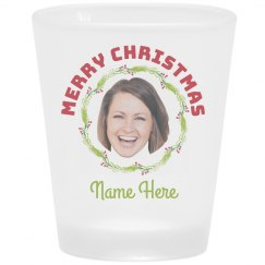 Add Your Photo Custom Name Shot Glass