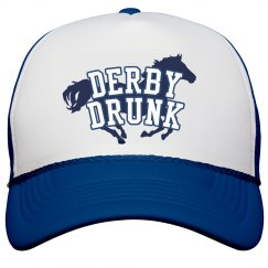 Definitely Derby Drunk Hat