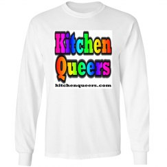 Kitchen Queers Rainbow Logo Long Sleeve T-Shirt