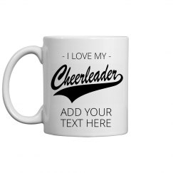 Create Your Own Cheerleading Mug