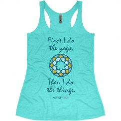 Yoga First - Racerback