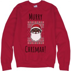 Murry Chrimah Unisex Sweatshirt