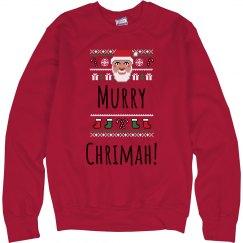 Murray Chrimah Sweatshirt
