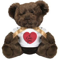Heart Love Bear