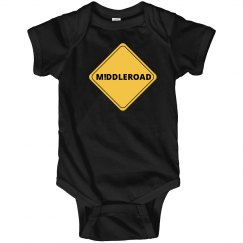 M!DDLEROAD Infant Onesie