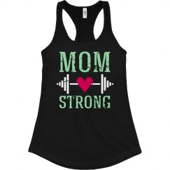 Mom Strong Workout Tank