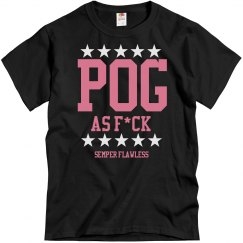 POG as F*ck Unisex Cut Blk/Pnk