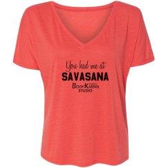 Savasana Shirt