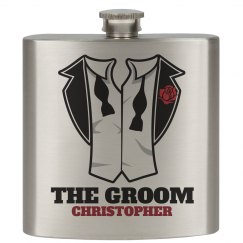 Gift Flask for Groom