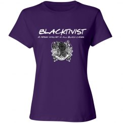 Blacktivist Purple design
