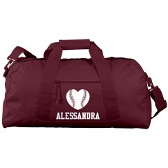Alessandra's Softball Bag