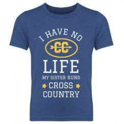 Custom My Sister Runs Cross Country