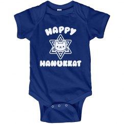 Happy Hanukkat Bodysuit