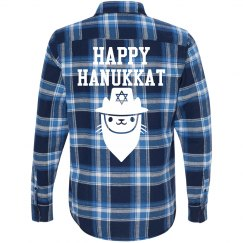 Plaid Hanukkat Holiday
