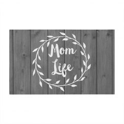Trendy Rustic Mom Life Design