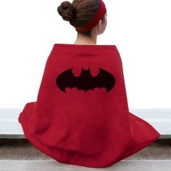 Batgirl blanket.