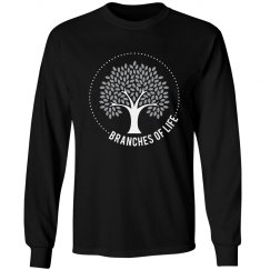 Men's Unisex Long Sleeve (White Logo)
