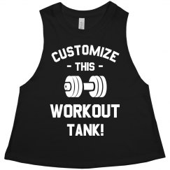 Customize A Workout Gym Tank