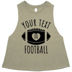 Customizable Football Girlfriend Crop