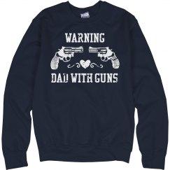 dad w guns