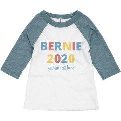 Custom Bernie 2020 Toddler Raglan