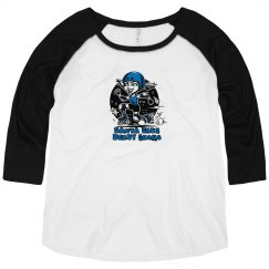 Ladies Curvy Raglan