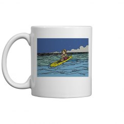 Out the back mug