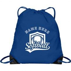 Softball Custom Name