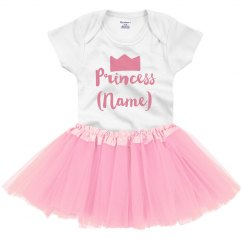 Custom Name Princess Shower Gift