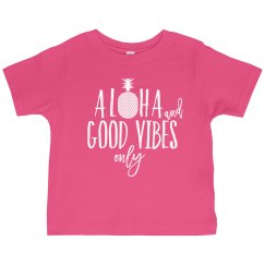 Kids Aloha & Good Vibes Only
