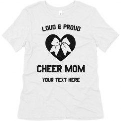 Loud & Proud Cheer Mom