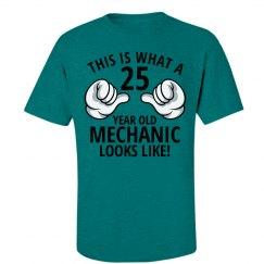 25 year old Mechanic