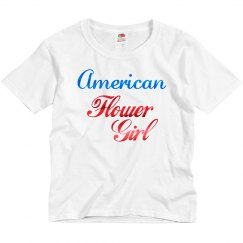 American Flower Girl Shirt
