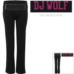 DJ WOLF YOGA PANTS