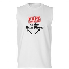 Gun Show Sleeveless white