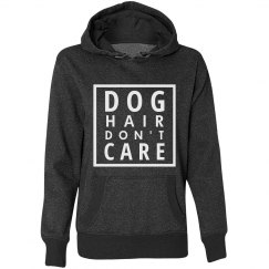 Dog Hair Don't Care Glitter Hoodie