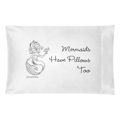 Mermaid Pillow Case2-More Clouds OFFICIAL