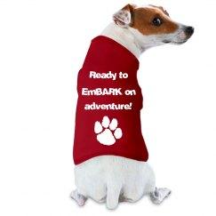 Ready to EmBARK Pet Shirt
