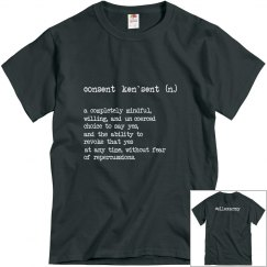 Consent Defined Unisex T-Shirt