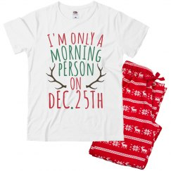 Only A Morning Person Boys Pajama Set