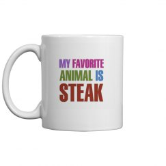 My  animal is steak