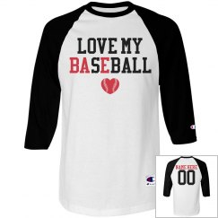Cute and Clever Bae Baseball Girlfriend Custom Shirt